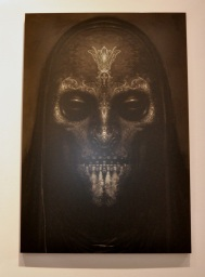 Concept art - death eater mask